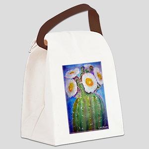 Saguao cactus! Southwest art! Canvas Lunch Bag