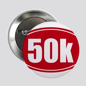 """50k 31.1 red oval decal sticker 2.25"""" Button"""