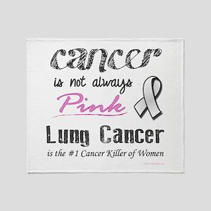 Not Always Pink! Throw Blanket