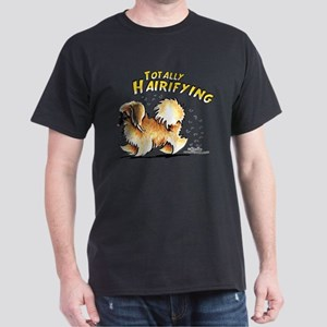 Pekingese Hairifying Dark T-Shirt