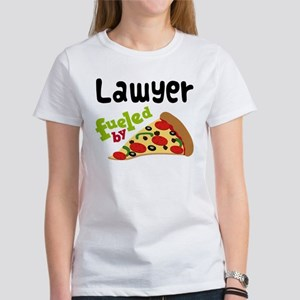 Lawyer Fueled By Pizza Women's T-Shirt
