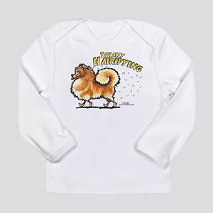 Pomeranian Hairifying Long Sleeve Infant T-Shirt