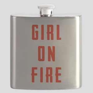 Girl On Fire Flask