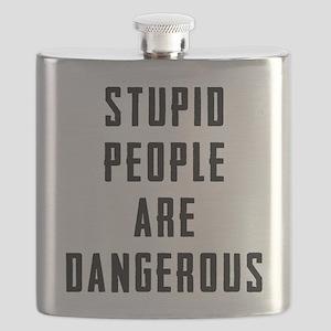 Stupid People Flask