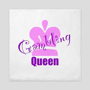 Gambling Queen Queen Duvet