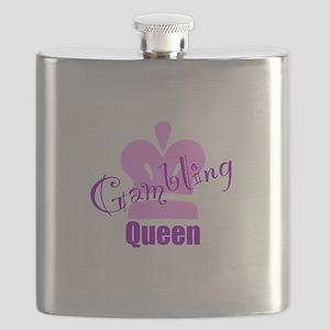 Gambling Queen Flask