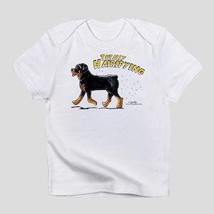 Rottweiler Hairifying Infant T-Shirt