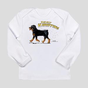 Rottweiler Hairifying Long Sleeve Infant T-Shirt