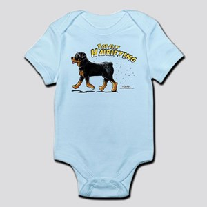 Rottweiler Hairifying Infant Bodysuit
