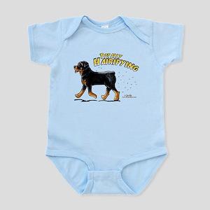 Rottweiler Hairifying Infant Bodysuit