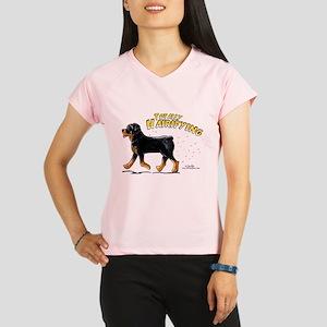 Rottweiler Hairifying Performance Dry T-Shirt