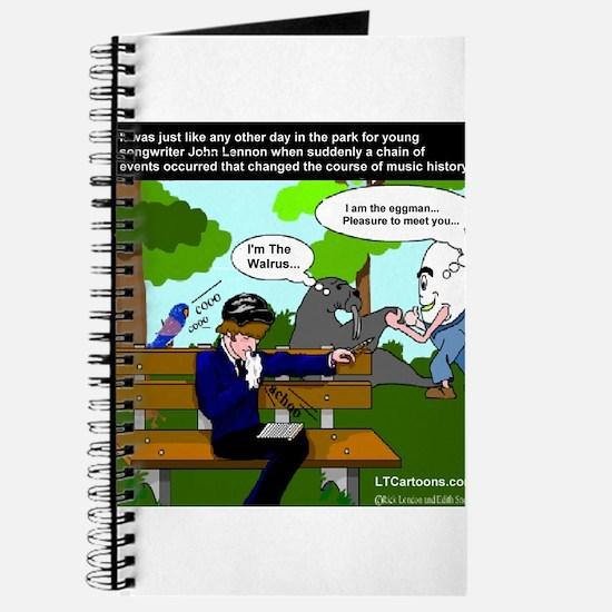 John Lennon Gets Inspired Journal