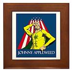 Appleweed Framed Tile - Artwork by Aaron Allen