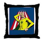 Appleweed Pillow - Artwork by Aaron Allen