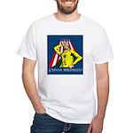Johnny Appleweed White T-Shirt