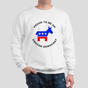 Oregon Democrat Pride Sweatshirt