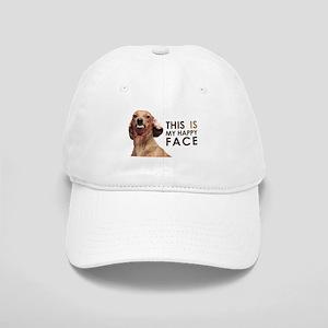 Happy Face Dachshund Cap