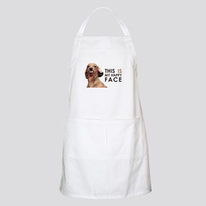 Happy Face Dachshund Apron
