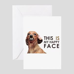 Funny Dachshund Greeting Cards Cafepress
