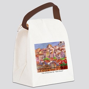 Remember Italy Canvas Lunch Bag