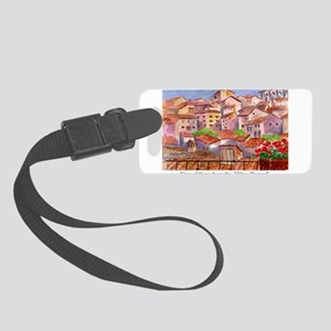Remember Italy Small Luggage Tag
