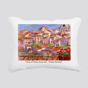 Remember Italy Rectangular Canvas Pillow