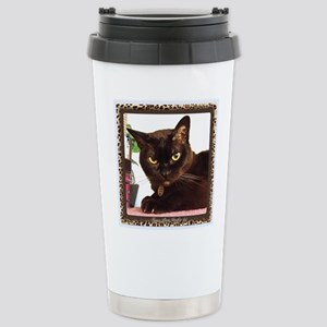 Cattitude Stainless Steel Travel Mug
