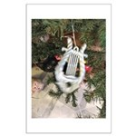 Christmas Tree Kitten Posters