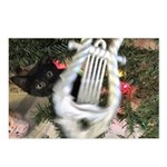 Christmas Tree Kitten Postcards (Package of 8)