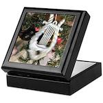 Christmas Tree Kitten Keepsake Box