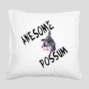 possum32a Square Canvas Pillow