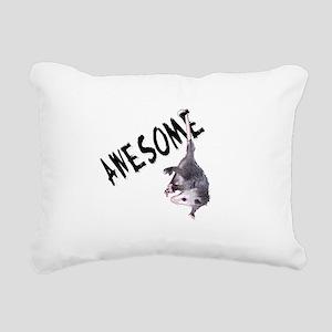 possum32b Rectangular Canvas Pillow