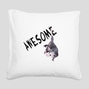 possum32b Square Canvas Pillow