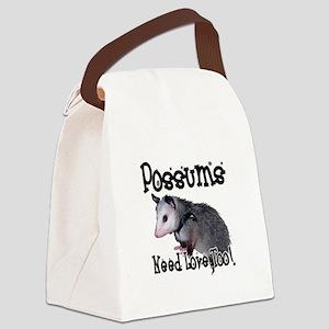 possum34 Canvas Lunch Bag