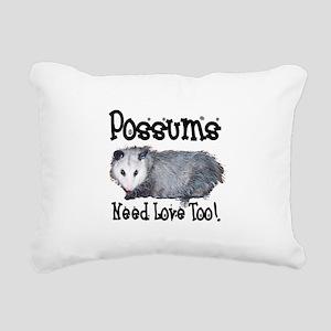 possum33 Rectangular Canvas Pillow