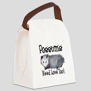 possum33 Canvas Lunch Bag