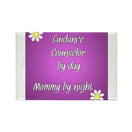 Guidance Counselor by day Mommy by night Rectangle