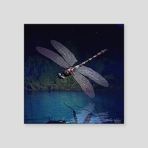 "dragonfly10asq Square Sticker 3"" x 3"""