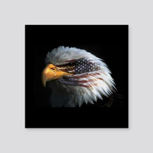 "eagle3d Square Sticker 3"" x 3"""