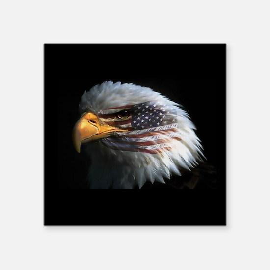 "eagle3d.png Square Sticker 3"" x 3"""