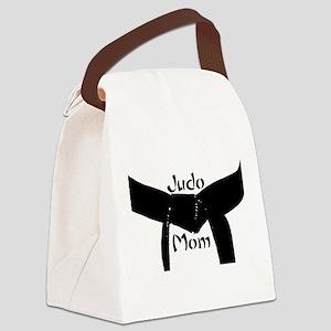 Martial Arts Judo Mom Canvas Lunch Bag