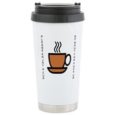 Enjoy a Cup of... Stainless Steel Travel Mug