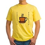Enjoy a Cup of... Yellow T-Shirt