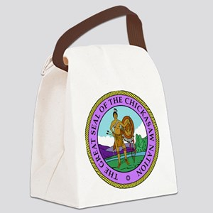 The Great Seal of the Chickasaw Nation Canvas Lunc