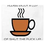 Enjoy a cup... King Duvet