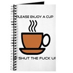 Enjoy a cup... Journal