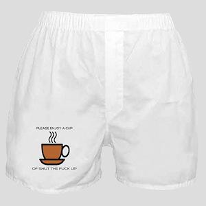 Enjoy a cup... Boxer Shorts