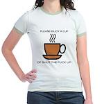 Enjoy a cup... Jr. Ringer T-Shirt