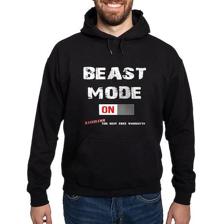 Beast Mode Men's Pullover Hooded Sweatshirt Dark