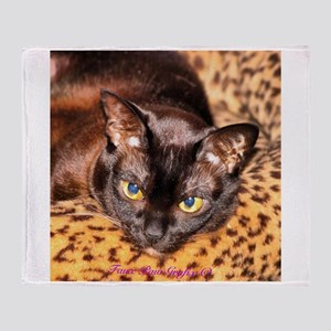 House Panther Throw Blanket